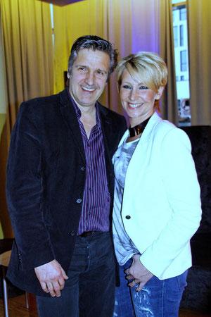 Claudia Jung mit ihrem Mann Hans Singer ©  Daniela Jäntsch