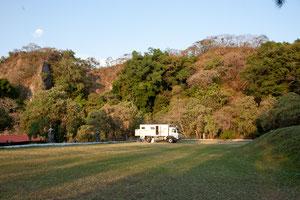 Unser Übernachtungsplatz am Laguna Santa Maria Centro Touristico