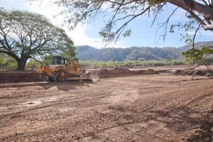 Bau einer Sand-Buggy Bahn