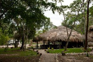 Die Ecoturistico Anlage und unser Stellplatz