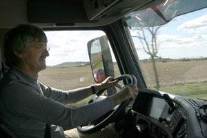 Rudi als trucker
