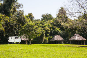 Der Campground in Tikal