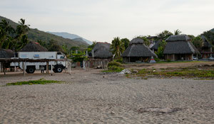 Übernachtungsplatz in La Ticla