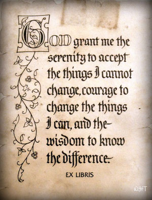 The Serenity Prayer is a coping strategy that I use frequently in my life. I testify to its efficacy.