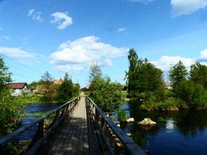 Приозерск. Чертов мост