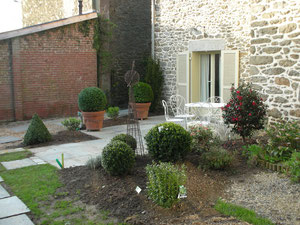 une terrasse pour le duplex Tartane
