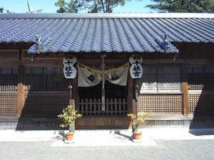 祇園大神等「細男舞・神相撲」の神々を祀る四十柱神社