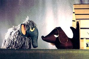 PUPPENBÜHNE Ferdinand Resch & Ruth Zauner,  Das Zottelmammut