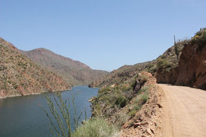 Auf dem Apache Trail