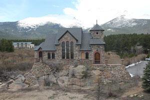 Foto: Kirche in der Einsamkeit