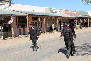 Foto Marshals im Tombstone