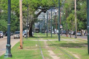 Straßenbahn in New Orleans