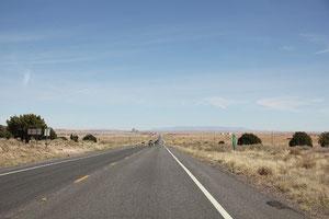 Foto einsame Straße