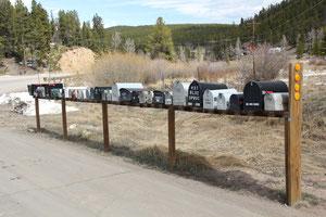 Foto: Briefkästen unterwegs