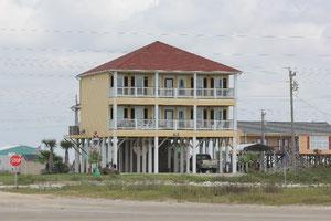 Foto Haus direkt am Strand