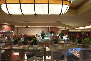 Foto: Buffet im Hotel Golden Nugget
