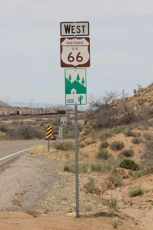 Foto: Auf der Route 66