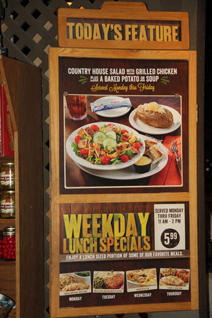 Foto: Cracker Barrel Restaurant, Tuscon