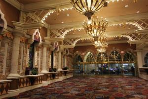Foto: Eingang Hotel Excalibur