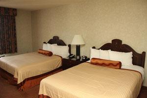 Foto: Zimmer im Hotel Excalibur, Las Vegas