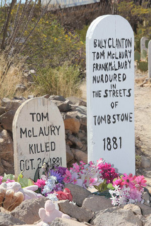 Boothill, Tombstone