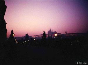 プラハ、カレル橋@Kunio Iwaya