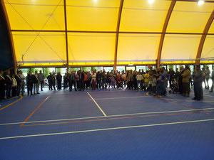 Tanta folla all'inaugurazione della nuova palestra