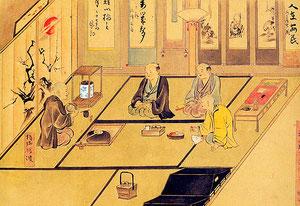 Tea ceremony of Edo period