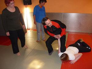 Selbstverteidigungskurs beim  Zen-Ki-Budo in Herne