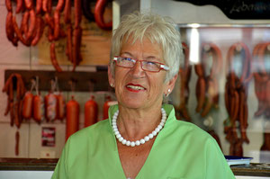 Fleischerei-Fachverkäuferin Frau Monika Klein