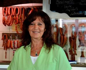 Fleischerei-Fachverkäuferin Frau Ingried Kaltenborn