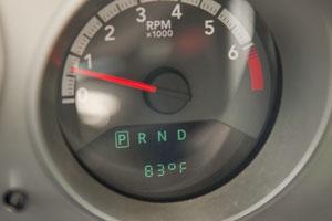 83 Grad Fahrenheit, wie hier kurz vor Fairbanks, oder sogar wärmer waren keine Seltenheit.