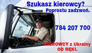 Kierowca z Ukrainy.