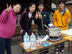 2013年10月19日に住民も参加しての試走会を開催