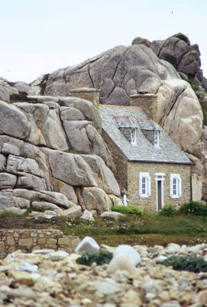 Haus bei Ploumanac'h (Bretagne)
