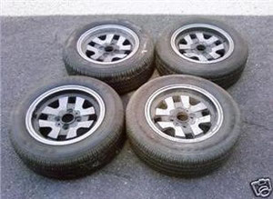 the wheels I bought on eBay