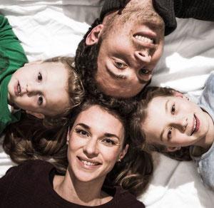 Natalie, Moritz, Sophie und Jonas Thumann