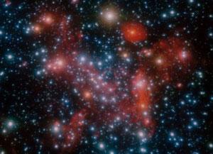 Foto: Die Milchstraße - ESO/S. Gillessen et al.,