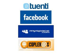 Myspace,Facebook,Tuenti,Twitter