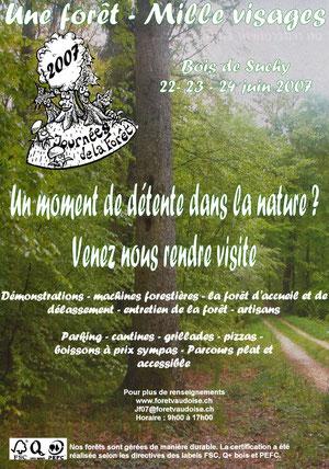 Journées de la forêt, bois de Suchy 2007