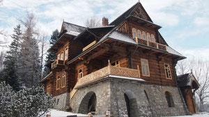 """Вилла """"Едлинка"""", построенная по проекту С. Виткевича"""