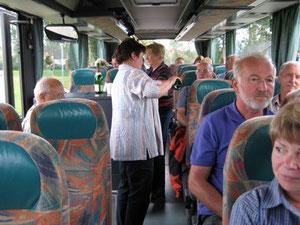Service im Bus