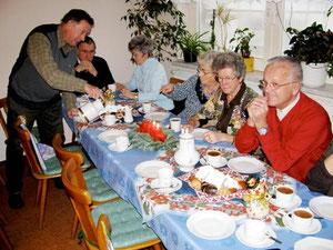 Weinachtsfeier im Vereinsheim