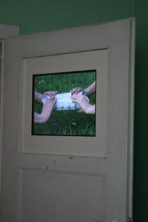 Augenstern und Manuel Krumrain, Übungsgerät für Gedankenaustausch 2012