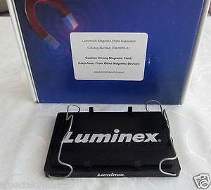LUMINEX MAGNETIC PLATE SEPERATOR für die Chromatographie/ Chemie