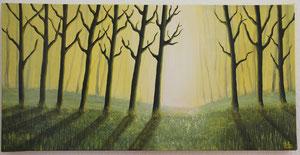 Elfenwald gelb, 40 x 80 cm