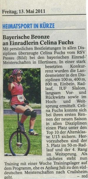 Quelle: Passauer Neue Presse 13.05.2011