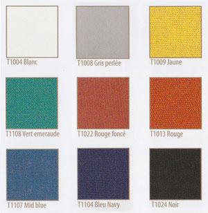 Tissu Dralon 9 coloris