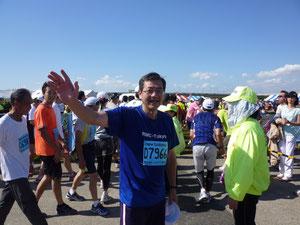 平成23年10月 荒川タートルマラソン