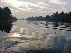 Mekong in der Morgenstille